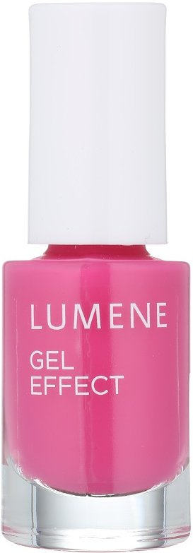Lumene Gel Effect lak na nehty odstín 17 Raspberries 5 ml