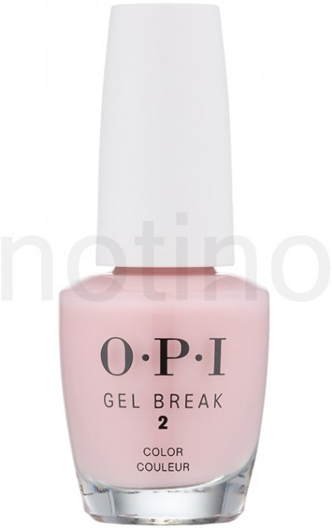 OPI Gel Break lak na nehty odstín Properly Pink (Second Step - Ideal for Fair Skin Tones) 15 ml