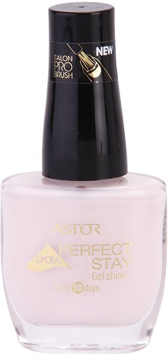 Astor Perfect Stay Gel Shine lak na nehty odstín 118 Charming Pink 12 ml