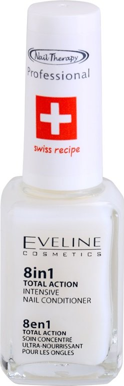 Eveline Cosmetics Nail Therapy kondicionér na nehty 8 v 1  12 ml
