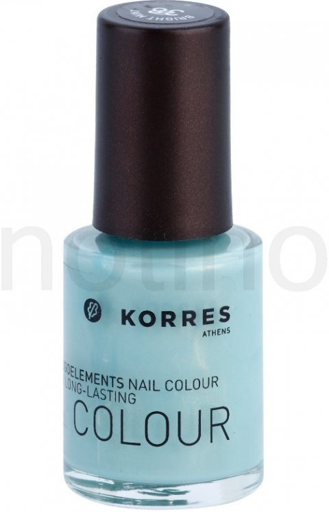 Korres Decorative Care Nail Colour lak na nehty odstín 38 Bright Mint (Myrrh & Oligoelements) 10 ml