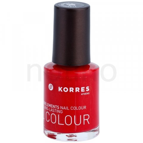 Korres Decorative Care Nail Colour lak na nehty odstín 22 Flashy Fuchsia (Myrrh & Oligoelements) 10 ml