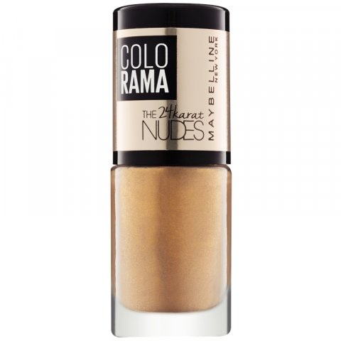 Maybelline Colorama The 24karat Nudes lak na nehty odstín 474 7 ml