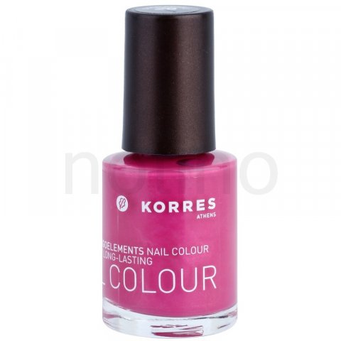 Korres Decorative Care Nail Colour lak na nehty odstín 28 Disco Purple (Myrrh & Oligoelements) 10 ml