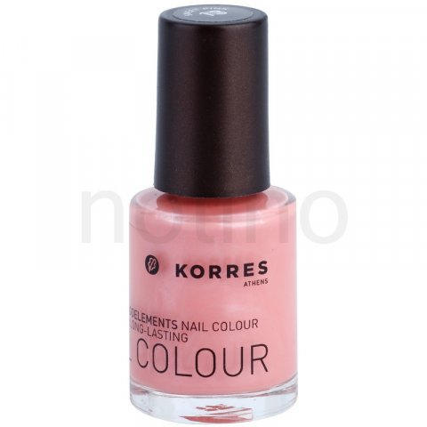 Korres Decorative Care Nail Colour lak na nehty odstín 13 Sweet Pink (Myrrh & Oligoelements) 10 ml