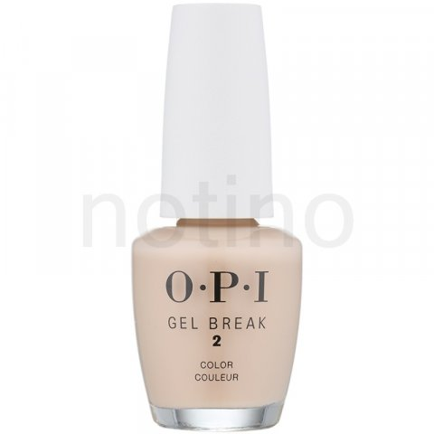 OPI Gel Break lak na nehty odstín Bareky Beige (Second Step - Ideal for Dark Skin Tones) 15 ml