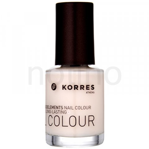 Korres Decorative Care Nail Colour lak na nehty odstín 05 Baby Pink (Myrrh & Oligoelements) 10 ml