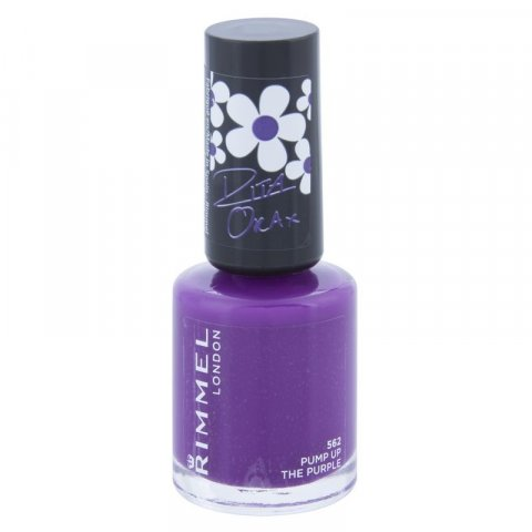 Rimmel 60 Seconds By Rita Ora lak na nehty odstín 562 Pump Up The Purple 8 ml