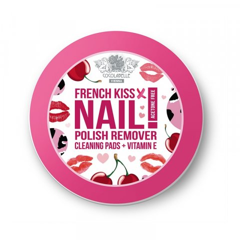 Cocolabelle Fruit Scented & Fabulous Nails odlakovací tampony French Kiss  50 ks