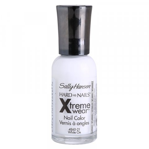 Sally Hansen Hard As Nails Xtreme Wear zpevňující lak na nehty odstín 300 White On 11,8 ml