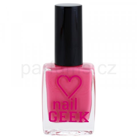 Makeup Revolution Nail Geek lak na nehty odstín 11 Cheeky Pink 12 ml