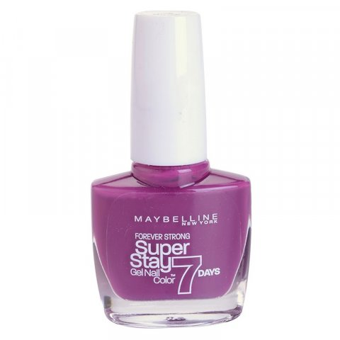 Maybelline Forever Strong Super Stay 7 Days lak na nehty odstín 230 Berry Stain 10 ml