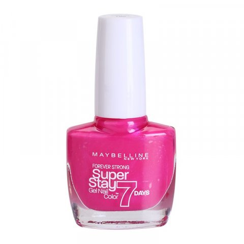 Maybelline Forever Strong Super Stay 7 Days lak na nehty odstín 155 Bubble Gum 10 ml
